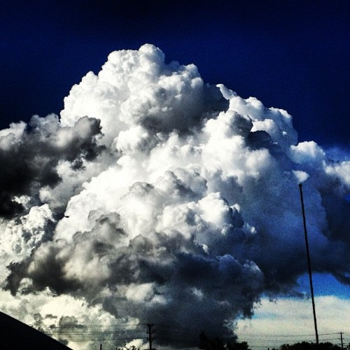Sweet clouds!  (at Burlington Coat Factory Corporate Office)