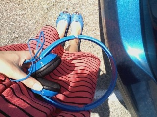 My headphones match my shoes which match my car! :-)