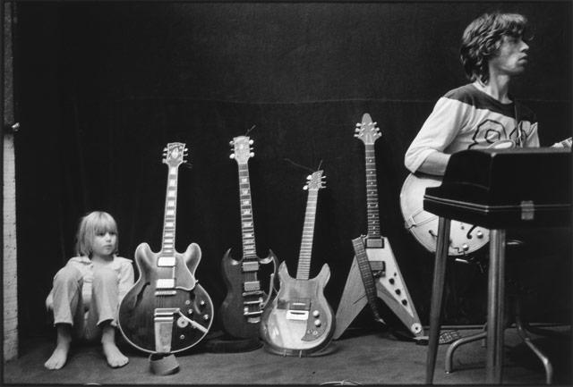 KEITH RICHARDS et son fils Marlon