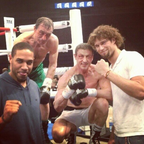 Grudge Match - FIRST LOOK @ Robert De Niro & Sylvester Stallone