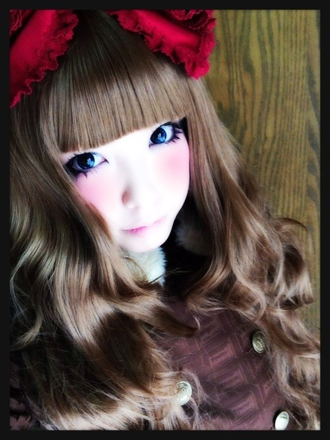 ours-x-sucre on Ameblo in Royal Chocolate coat