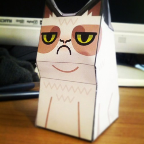 :)  bit of paper craft. Can't get his ears right though…