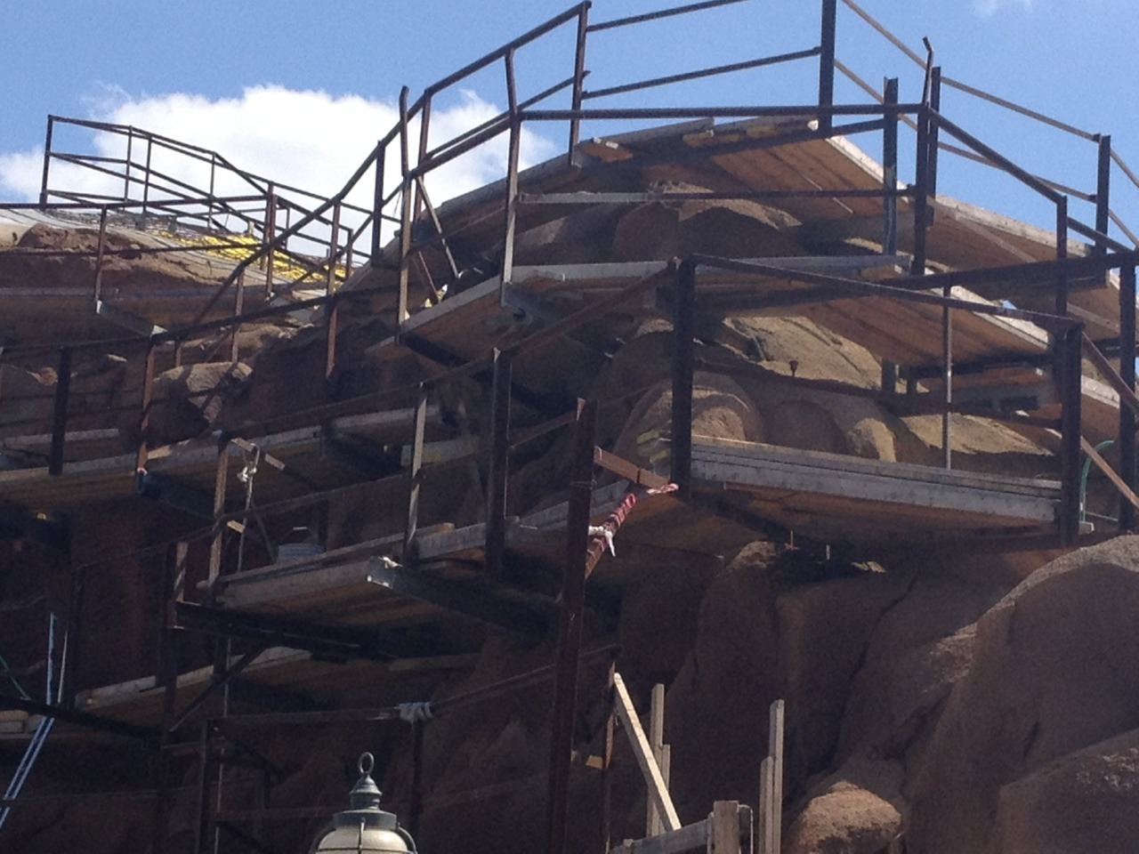 goingthedistancedcp:  Seven dwarves mine train progress, 04/24