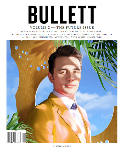 For the cover of Bullett Magazine Jamal applied Hamadi Shea Hair Cream to James Franco for a future perfect look. Check it out…