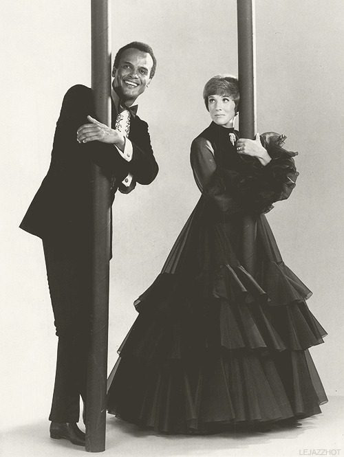 Promo still for An Evening With Julie Andrews and Harry Belafonte, 1969.