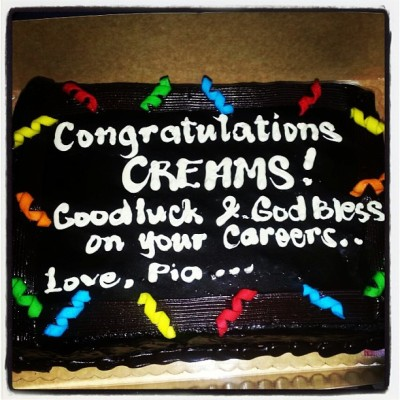 CONGRATULATIONS my dear CREAMS! 🎓🎉👏 Goodluck & Godbless on your careers! 😊 I pray that the good Lord may always be with you as you journey through your chosen paths.. 🙏 walang magbabago ahh? stay humble. 😊 I WILL SURELY MISS YOU! and LOVE KO KAYO! Lamnyoyan! @jascontado @jazzamorin @ariannecortez @estiihlandicho @thegracecheng @gingsy