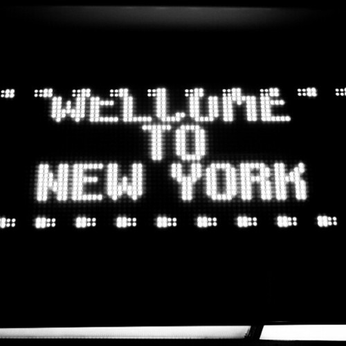 Welcome to New York… Good luck, you'll need it. http://on.fb.me/13rGAI3