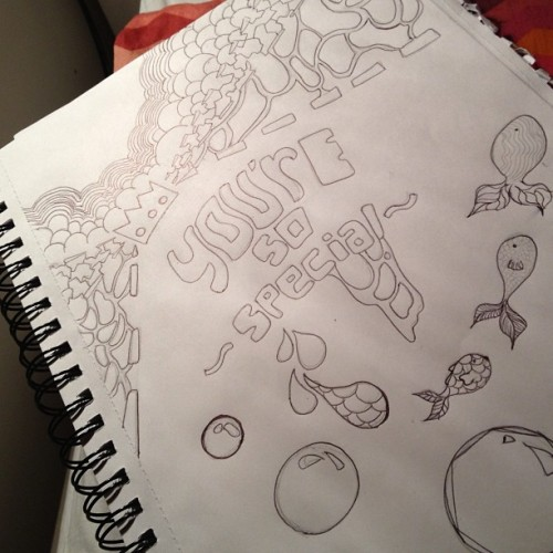 #drawing #sketch #sketching #art #you #are #so #special #text #fish #bubble #pencil #cute #love #crush #friendship #sketchbook #instagood #followme #lol #mine #absurd #nofilter