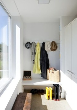 myidealhome:  simple entryway (via home life)