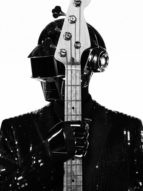 Daft Punk by Hedi Slimane (Yves Saint Laurent)