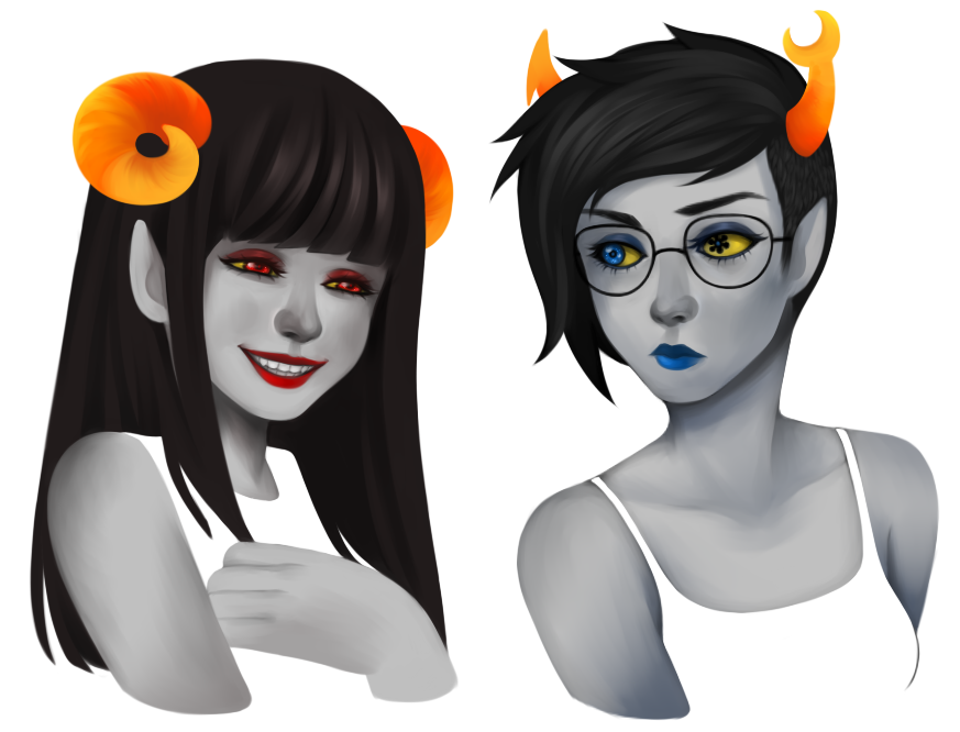 eunnieboo:  homestuck more like hottiestuck amirite