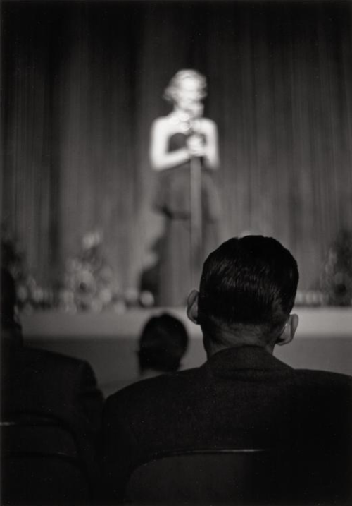 Show at the Fulton Theater, 1950 Elliott Erwitt