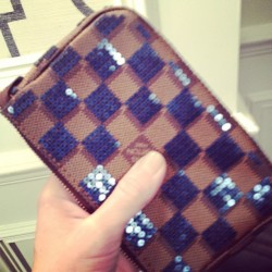 Need it now: tiny Louis Vuitton evening clutch. #prefall