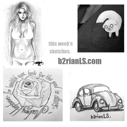 it's that time of the week! head over to http://b2rianLS.com to check out some new and previously un-scanned sketches