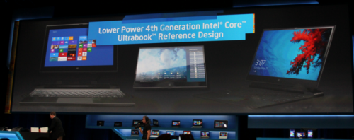 "Today at its CES event, Intel made the claim that by the end of 2013, the market will enjoy the presence of $599, touch-enabled Ultrabook laptops. The company also stated that the devices will be required to support touch input. Finally, Intel promised functional ""all day battery life."" (via Intel: 4th generation Ultrabooks will require touch and will retail for $599 by end of 2013 - The Next Web)"