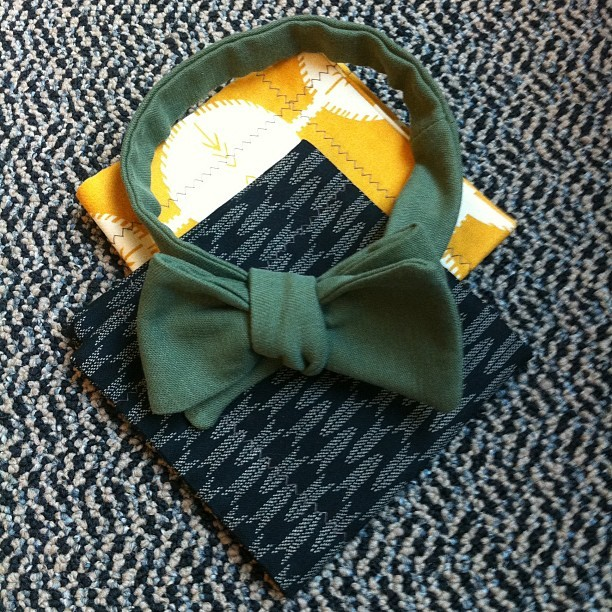 gqfashion:  Like these pocket squares and bow tie from @zelmarose. JD
