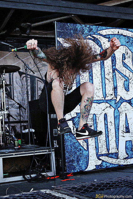 Miss May I @ Warped Tour by Blake Herman on Flickr.