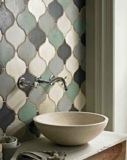 myidealhome:   artistic tiles (via pinterest)
