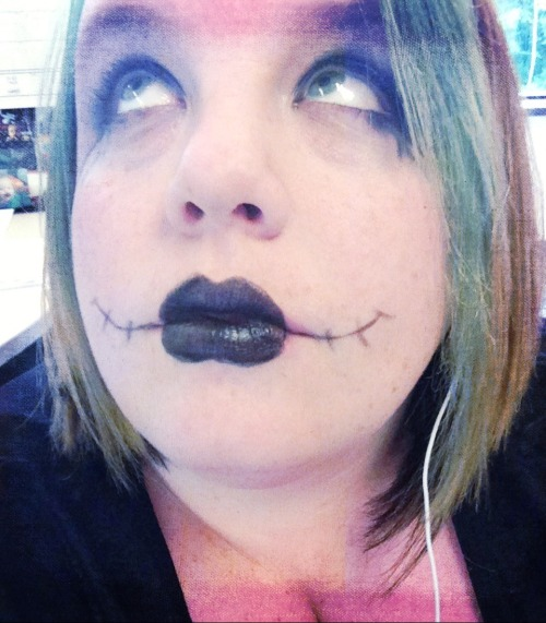 sally nightmare before christmas burton fan make up grown up goth