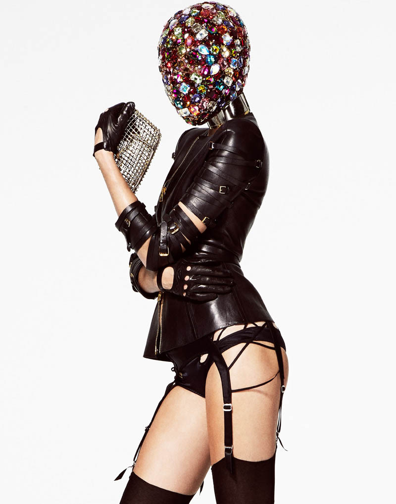 fashionbondage:  JOSEPHINE SKRIVER  FOR V MAGAZINE #83 BY JASON KIM