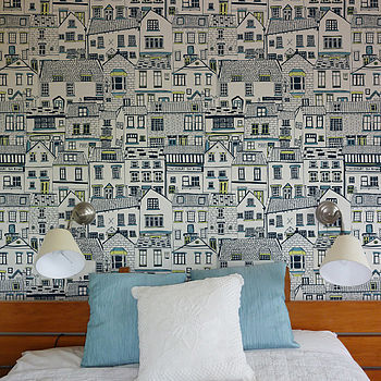 Cool Coastal Cottages Wallpaper found on NOTHS