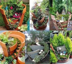 ecosavvyrebel:  Broken Pot Project