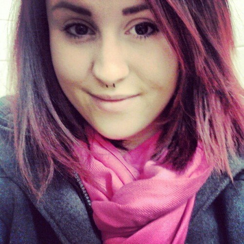 Im so cuteeeeeeee! #cute  #adorable #beautiful #lesbian #redhair #tattoos #ink #piercings