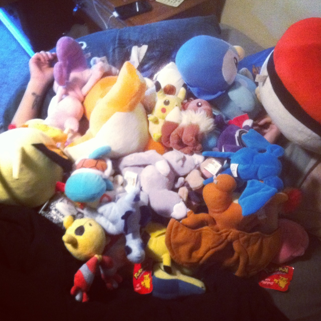 I was covered in Pokemon this morning.
