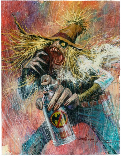 Johnathan Crane AKA The Scarecrow by Jonathan Wayshak.