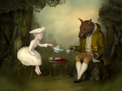 Tea With Me and He by Ray Caesar Also