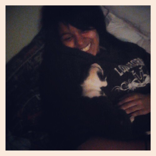 "Me and my puppy ""Oreo""…"