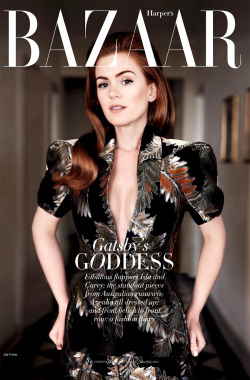 mirnah:  Gatsby's goddess Isla Fisher stuns for the June/July issue of Australian Harper's Bazaar magazine. Photographed by Simon Lekias and styled by Thelma McQuillan.