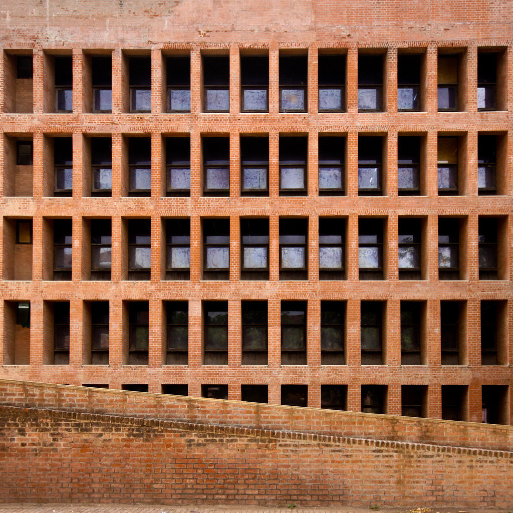 architectureland:  Indian Institute of Management (IIM) Ahmedabad - Louis Kahn (by Scott Norsworthy)