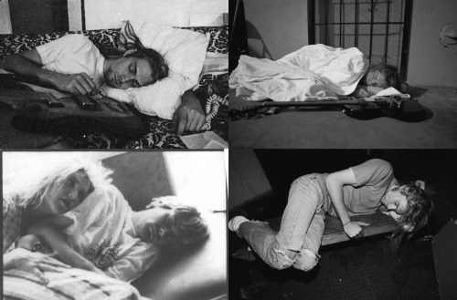 gimme-back-my-alcohol:  Guys, look at all these pictures of Kurt sleeping.