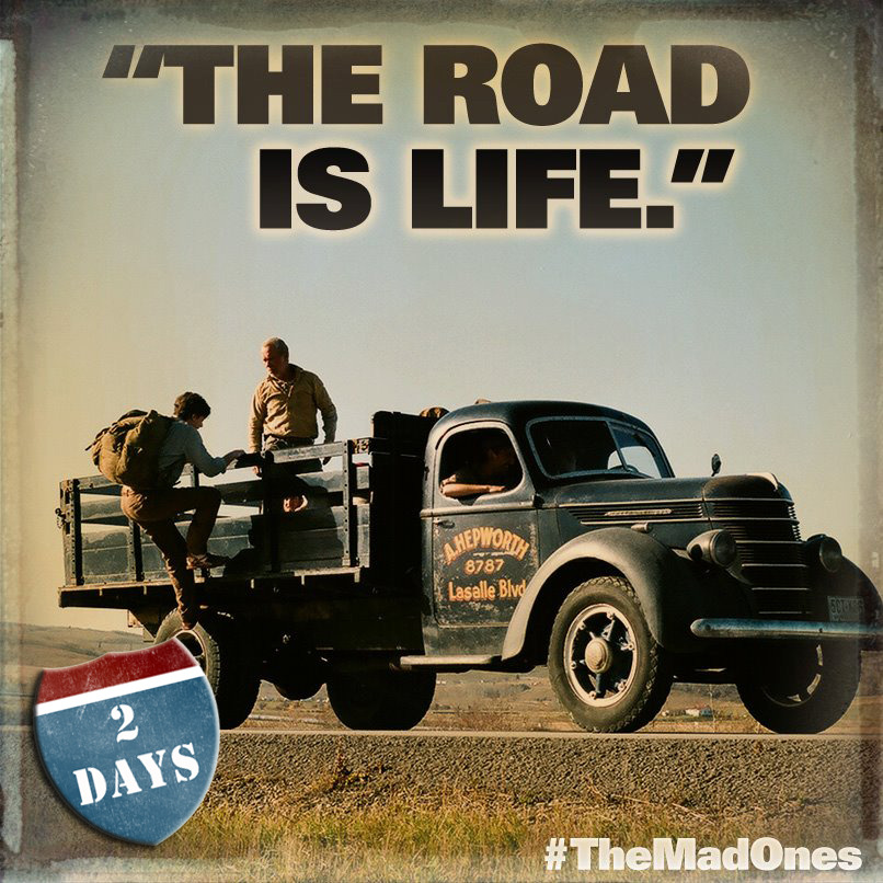What's your favorite Kerouac quote? #OnTheRoad hits theaters in TWO DAYS!