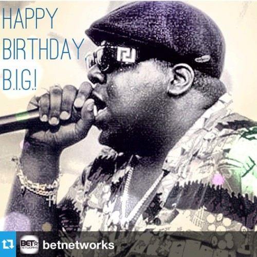 Happy Bday Biggie!! #Repost from @betnetworks with @repostapp