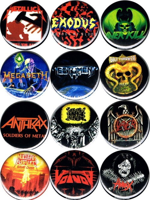 intohimo-fox:  Buttons i need to order via Pork Mag  DEATH TO ALL BUT METAL AND ALL THAT OTHER MUSIC. AT THE PORK SHOP.