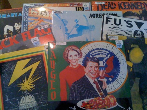 It's a PUNK-a-RAMA Christmas at PHONO SELECT RECORDS! Loads of classic 80's Punk/Hardcore restocks just in time for the holidays, these records are now in the bins waiting for good homes! Stop by and pick up a record for that special punk rocker in your life.