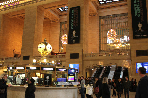Grand Central… surreal in person. To think of the history that has been through there, everything. It definitely caused a sense of awe every time I stepped through there.
