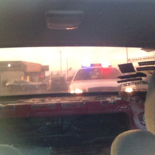 Pulled over with @dmacs14. #cops #pulledover #royald #s14