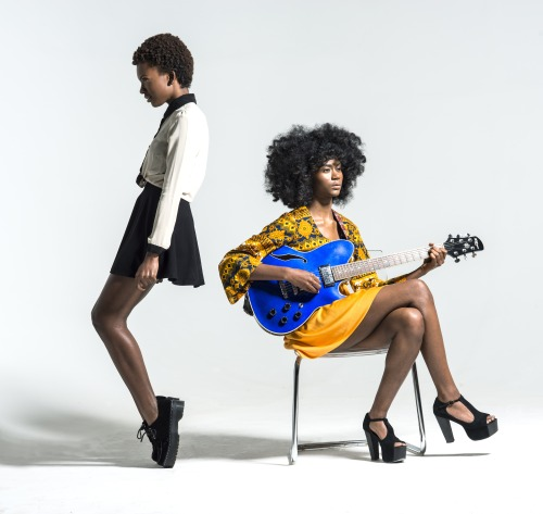 blackfashion:  Alex&Isis St.Beauty Twitter.com/Stbeautyband  Facebook.com/Stbeautyband  Chris Mitchell Potography
