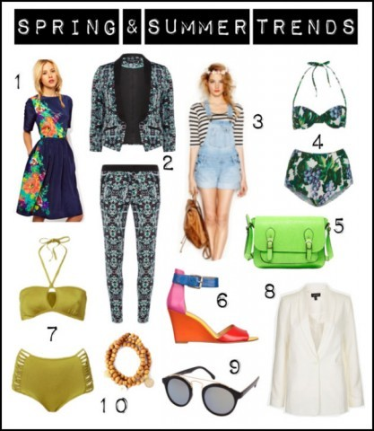 SPRING & SUMMER TRENDS FOR 2013by Grasie Mercedes http://bit.ly/17uYA4b