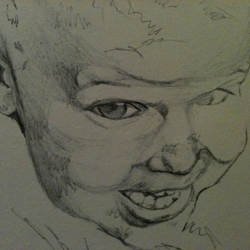 In progress #art #bic #scribbling