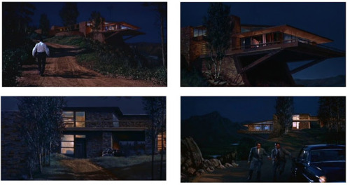 Check out this photo tribute to Hollywood matte artist Matthew J. Yuricich who created matte paintings for North by Northwest, Logan's Run, Blade Runner and other films.