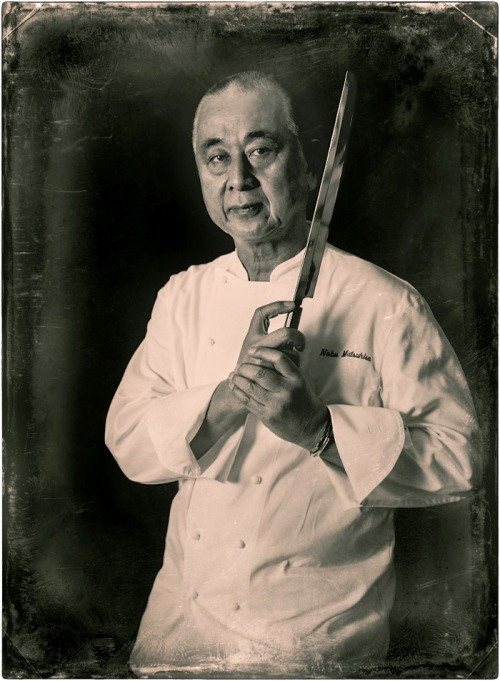 "Chef Nobuyuki ""NOBU"" Matsuhisa. Photographed in Beverly Hills Dec 12th 2012 for Ocean Drive Magazine - ©2012 TOMO"