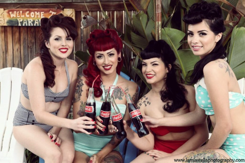 mommamonsta:  The Sailors Siren photoshoot with La Mia Stella Photography ✨