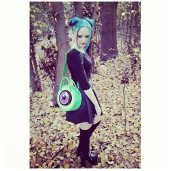 💚Hottie @kristaaannn lookin sik in her #kreepsville 👀bag #dollskill  (at www.dollskill.com)