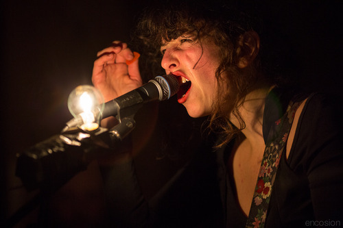 Sneak Peek: Jesse Stein of The Luyas last night at Birthdays for Bird on the Wire  P.S. Fatherhood has slowed my pace of processing these photos right down…