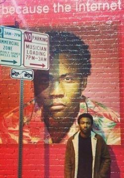 cute hip-hop handsome actor rapper comedian childish gambino Black man african american man