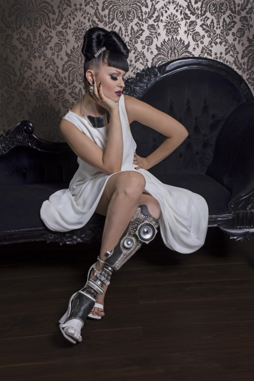 Steampunk Tendencies | Viktoria Modesta - Alternative Limb - Stereo Leg